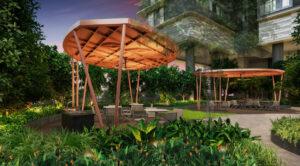 One North Eden BBQ Pavilions