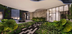 One North Eden Grand Arrival Courtyard