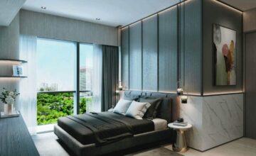 one-north-eden-condo-master-bedroom-singapore